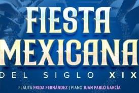 """Festejo patrio musical en el TAP con """"Fiesta Mexicana"""""""