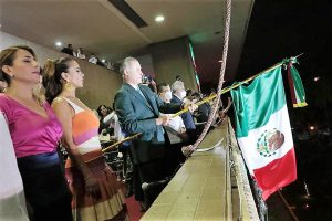 Grito de Independencia Palacio de Gobierno Sinaloa Quirino Ordaz Coppel 2021 Q