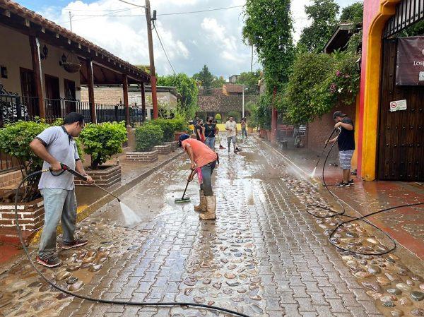 Huracán Nora reafirma la gran conciencia turística que prevalece en el Pueblo Señorial de El Quelite (7)