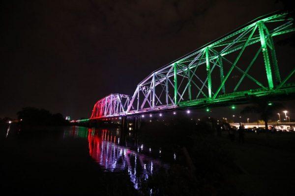 Iluminación Artística Puente Negro Culiacán Sinaloa México 2021 3