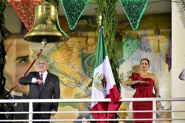 Mazatlán Brito de Independencia 2021 a 211 años Químico Benítez torres