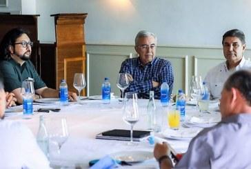 Rubén Rocha Moya se reúne con presidentes de la Liga Mexicana del Pacífico