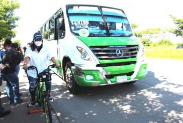 SEDESU capacita a conductores del transporte público sobre respeto a ciclistas y peatones