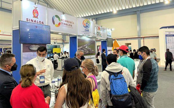 Sinaloa presente en la Feria Aeroespacial de México FAMEX 2021 Stand b