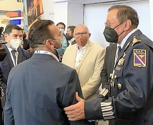 Sinaloa presente en la Feria Aeroespacial de México FAMEX 2021 aj