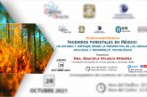 Graciela Velasco disertará sobre incendios forestales en México