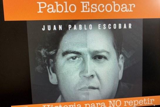 Hijo de Pablo Escobar da conferencia a jóvenes sinaloenses para evitar que opten por caminos fáciles