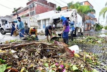 Intensifica Servicios Públicos trabajos de limpieza de la ciudad