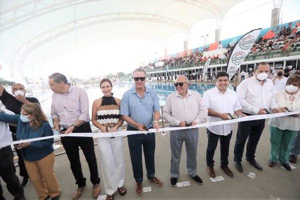 La Alberca Olímpica de Mazatlán ya cuenta con Techumbre y El Habal con un Nuevo Acceso 2021 2