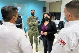 Protección Civil Federal Llama en Mazatlán a Resguardarse 2021 1