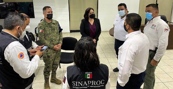 Protección Civil Federal Llama en Mazatlán a Resguardarse 2021