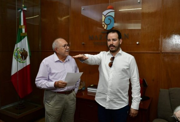 Toma Alcalde protesta a Ricardo Velarde Cárdenas como nuevo titular de Sedectur