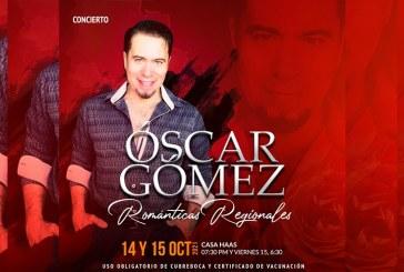 Óscar Gómez llega este jueves y viernes a Casa Haas con par de conciertos.